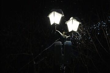 Night lantern Fotomurales