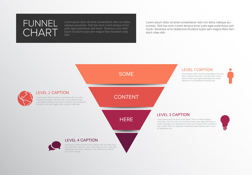 Layers Funnel Infographic Layout