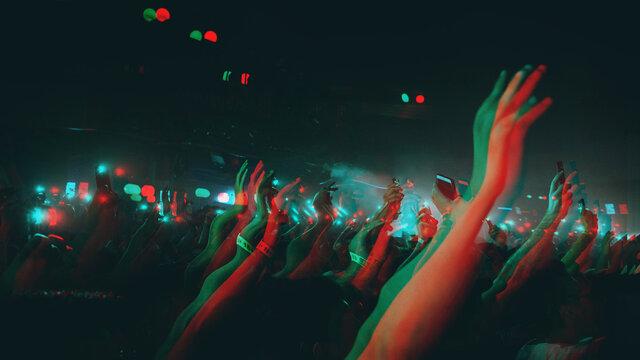 Trippy looking photos of concert/festivals/edm