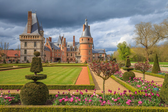 Castle of Maintenon, Eure-et-Loir, France