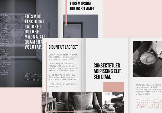 Minimalist Brochure Layout