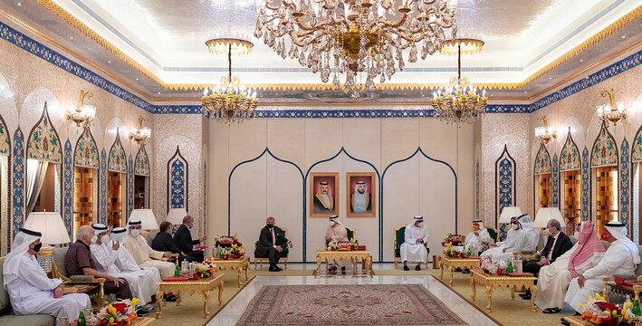 Bahrain King Hamad visits Abu Dhabi United Arab Emirates
