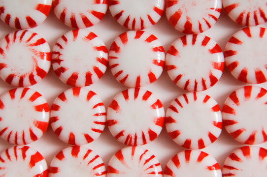Peppermint candy pattern