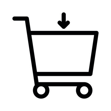 Download shopping cart icon