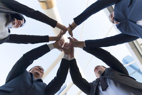 Success and Teamwork concept