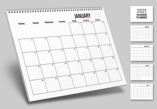 2021 Day Planner Calendar