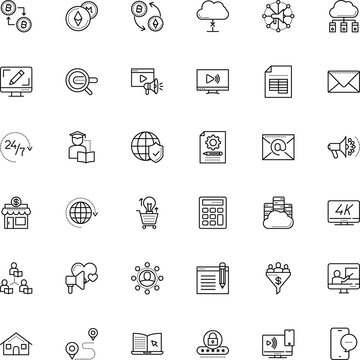 internet vector icon set such as: application, eps, buy, rate, keyboard, messaging, math, revenue, drawn, logistics, pin, invention, padlock, glass, cart, conversion, success, receive, worldwide