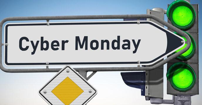 Cyber Monday, Signale auf Grün