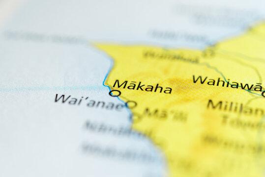 Makaha, Hawaii, USA.