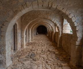 Fototapeta Historical Arkadi Monastery, located on a fertile plateau near Rethymno, Crete, Greece.