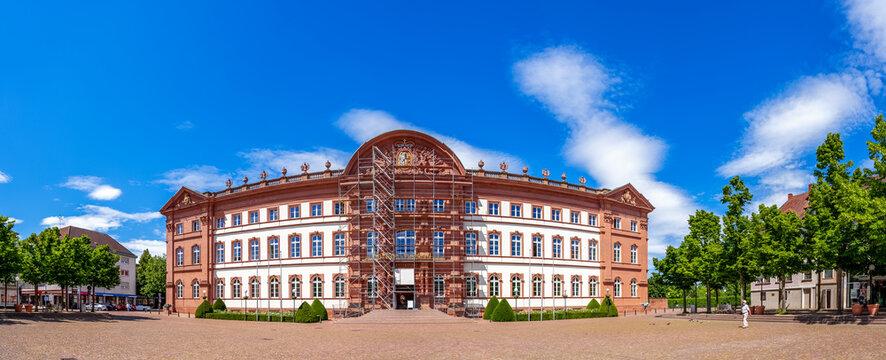 Schlossplatz, Zweibrücken, Rheinland-Pfalz, Deutschland