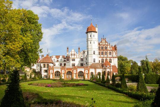Das Schloss Badedow in Mecklenburg Vorommern
