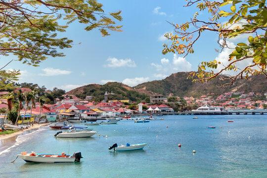Guadeloupe les Saintes la baie de Terre de Haut