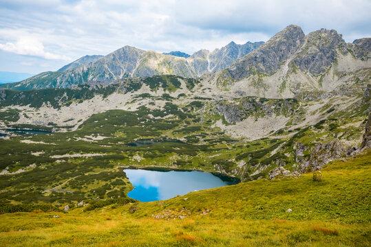 view to Tatra Mountains national park in Zakopane