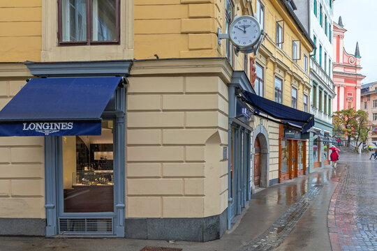 Longines Shop in Ljubljana Slovenia
