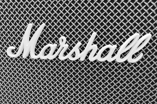 Marshall logo, antique radio