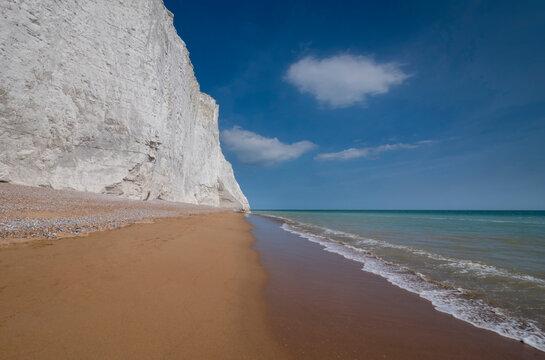 White cliffs England