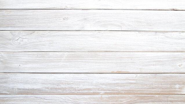 Full Frame Shot Of White Wood