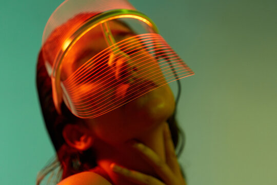 Led Mask Skin Revitalise Concept