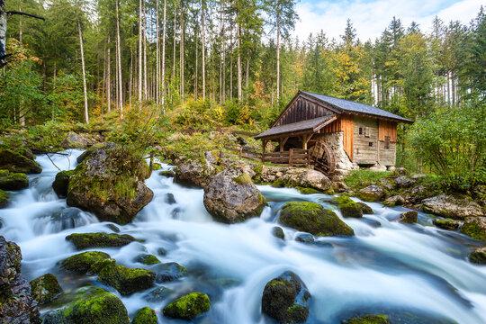 Gollinger Mill in Golling, Austria