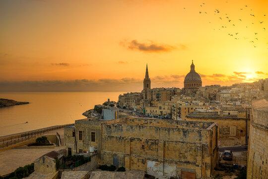 View over Valletta