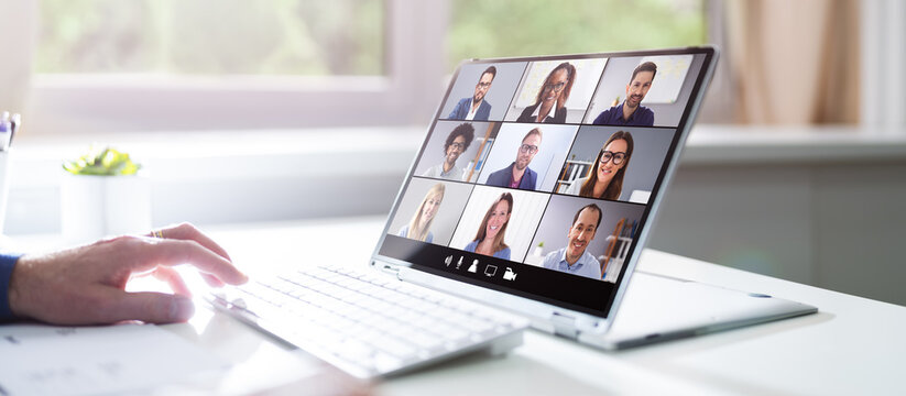 Video Conferencing Webinar Training Business Call