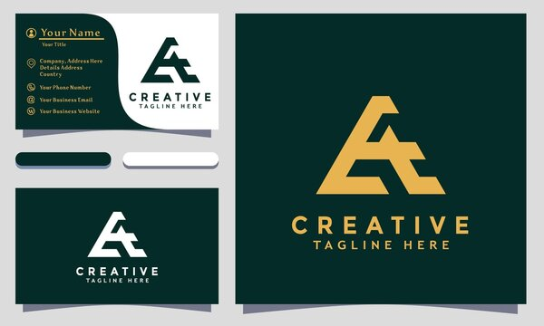 Modern creative AE Logo Design and template. A AE icon initials based Monogram and Letters in vector