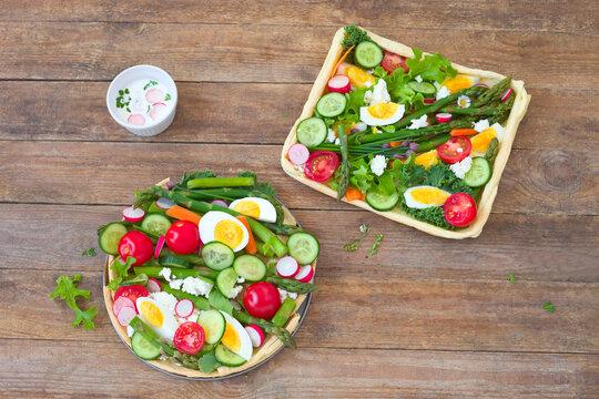 Gemüse- Tarten