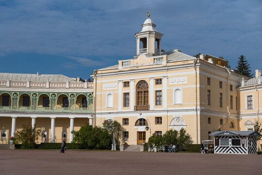 Pavlovsk Palace ( architect, Charles Cameron ) in Pavlovsk, Saint Petersburg, Russia