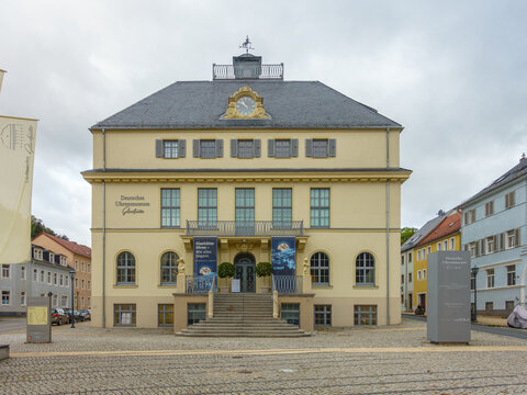 German Clock and Watch Museum aka Deutsches Uhrenmuseum in Glashütte Sachsen