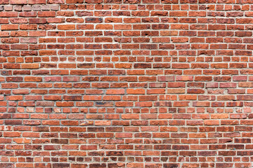Brick wall background. Old texture brick wall.