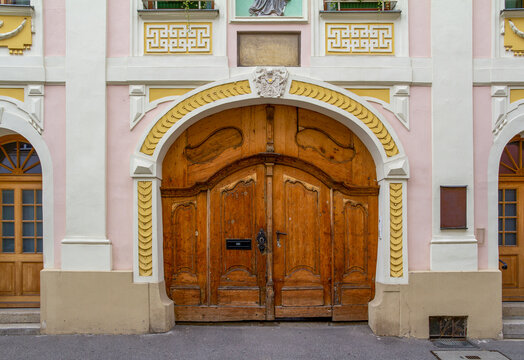 historic gate in Straubing