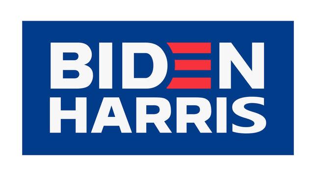 Joe Biden Vector Logo. Election Symbol. President Campaign Icon. Vector illustration