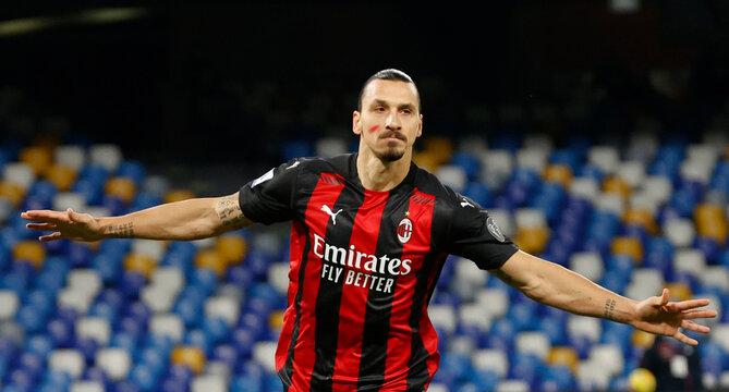 Serie A - Napoli v AC Milan