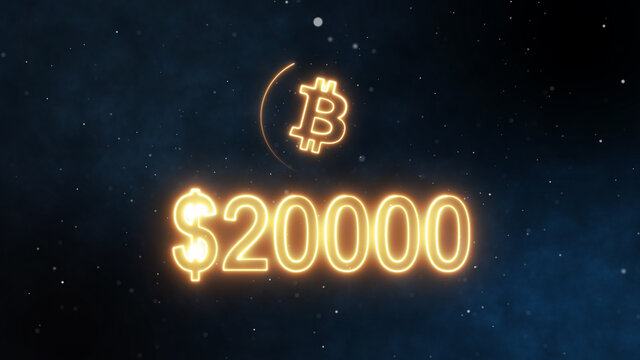 Bitcoin reach $ 20,000 - All time high. Bitcoin is an innovative payment network and a new kind of money.