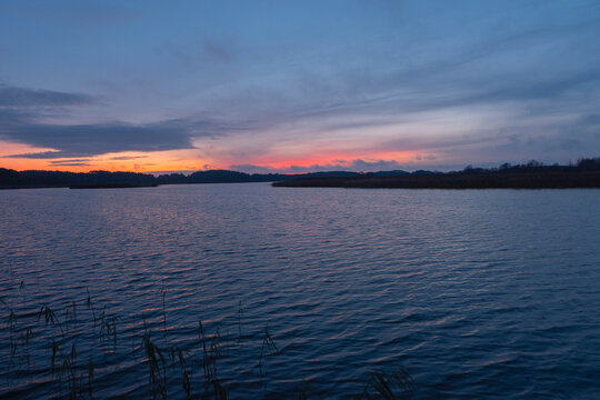 Lake in the north of the Republic of Belarus