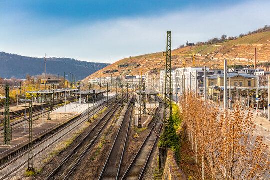 Bahnhof in Esslingen am Neckar