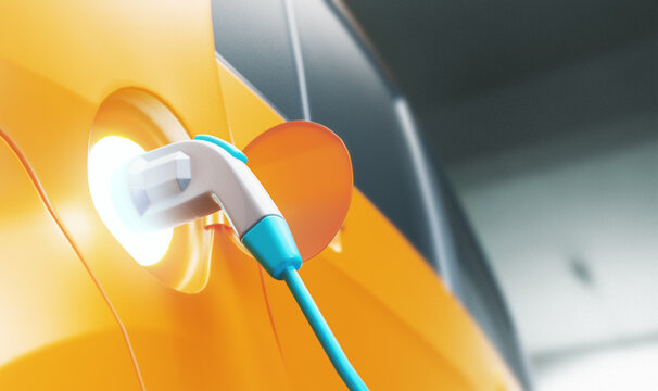 Charging Of Electric Car
