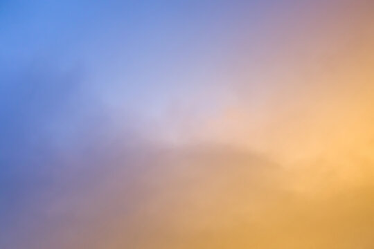 background of an abstract cloudscape sky at sunset