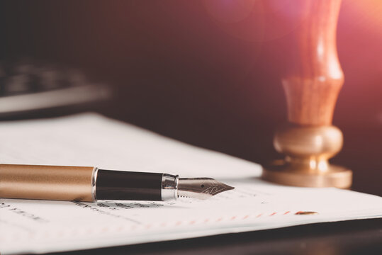 Law, notary, attorney background theme