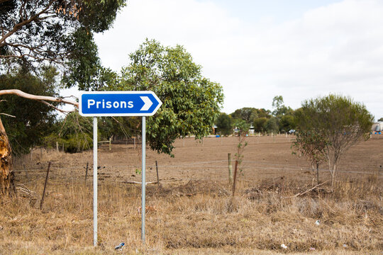 prisons sign
