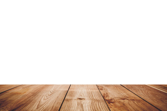 Close-up Of Floorboard Against White Background