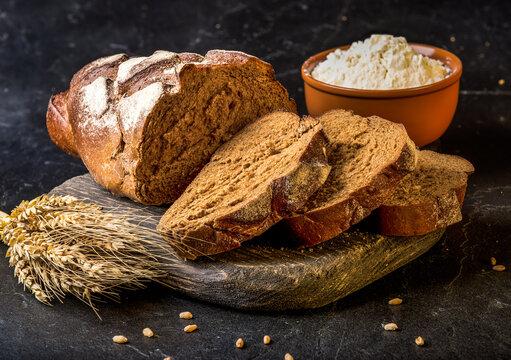 Fresh airy bread
