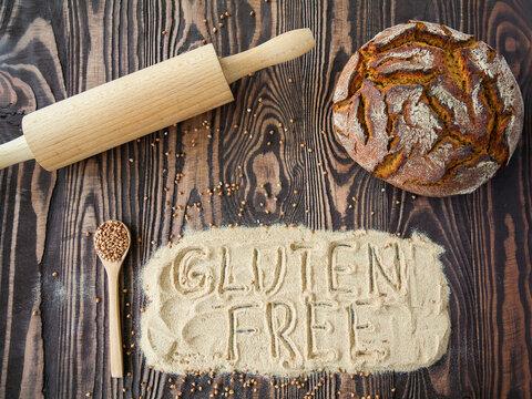 Buckwheat flour concept