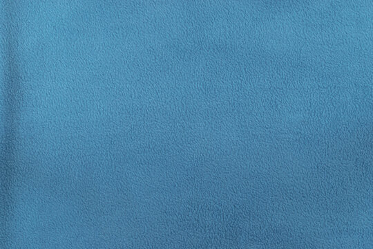 Blue and soft with copy space fabric background surface