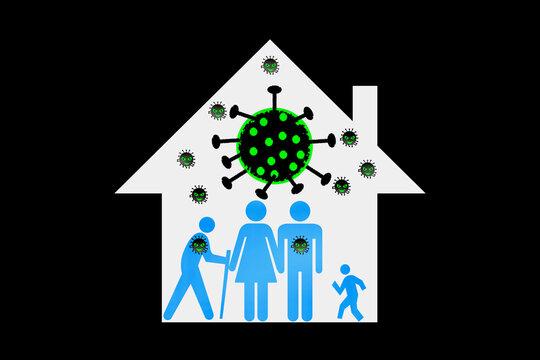 家庭内感染
