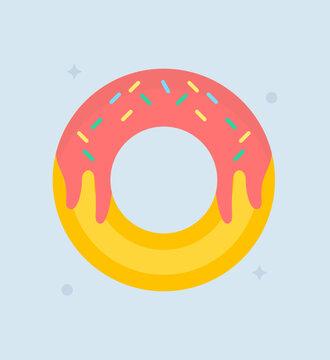 Glazed Donut Vector