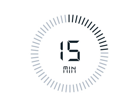 15 minutes timers Clocks, Timer 15 min icon
