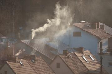 Fototapeta Ogrzewanie domu