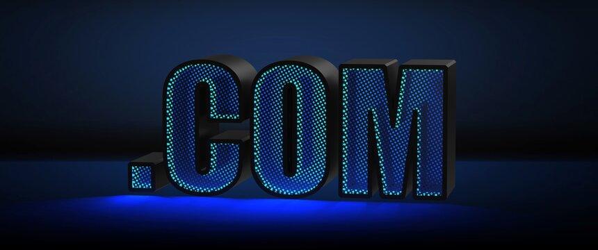 dot com ( .com ) — Top-level domain or Dot-com company